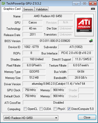 download driver amd radeon hd 6450