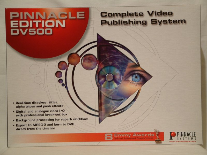 pinnacle systems hollywood fx pro 34
